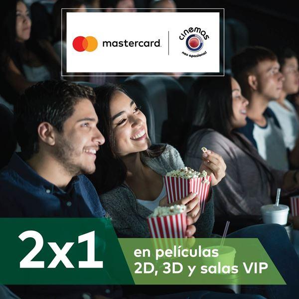 Foto de 2x1 en película 2D, 3D, salas VIP en Cinemas