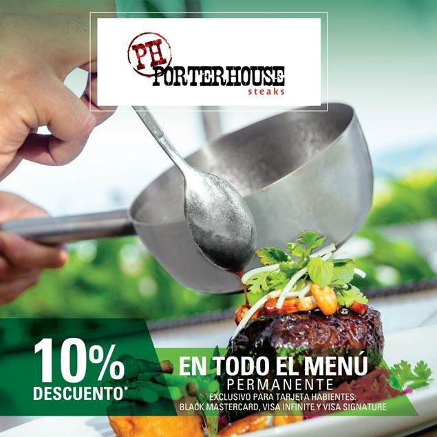 Foto de 10% de descuento permanente en PorterHouse Steak