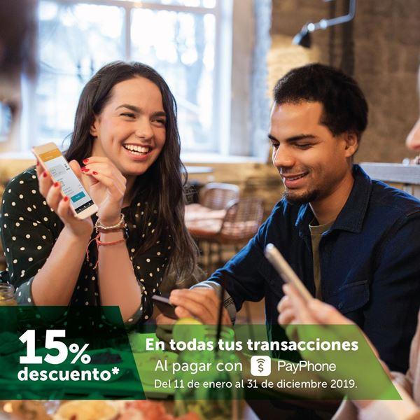 Foto de -15% al pagar con PayPhone en 2019