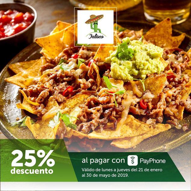Foto de -25% con PayPhone en Jalisco