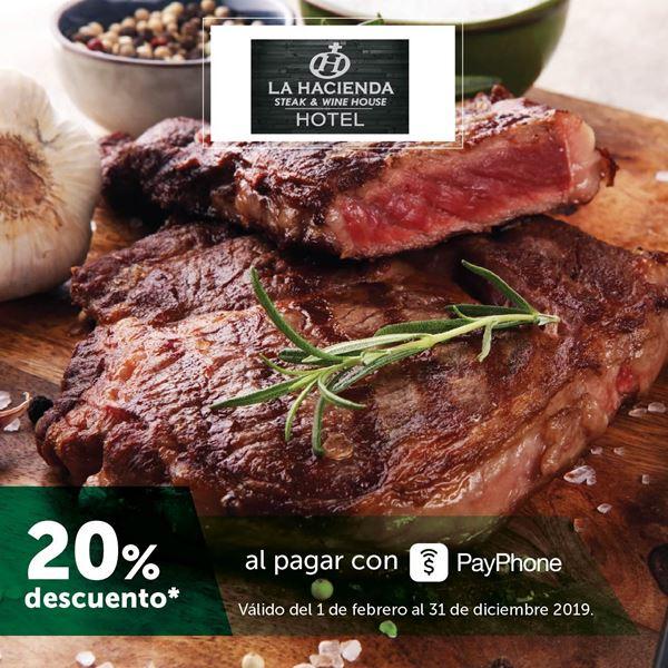Foto de -20% con PayPhone en La Hacienda