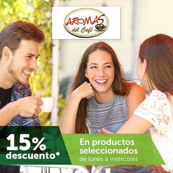 Foto de 15% de descuento en Productos seleccionados en Aromas del café