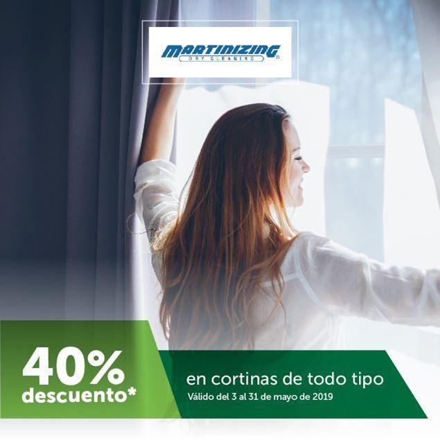 Foto de 40% de descuento en cortinas en Martinizing
