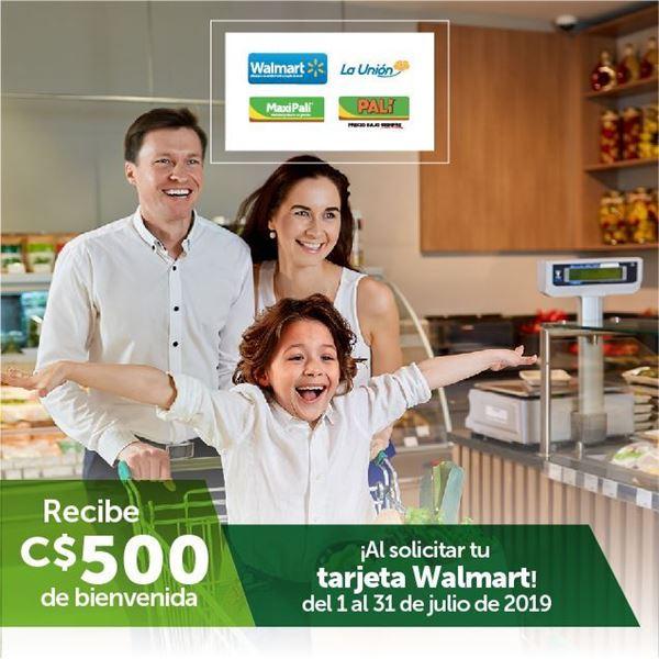 Foto de Bono de C$500.00 De Bienvenida Walmart MasterCard
