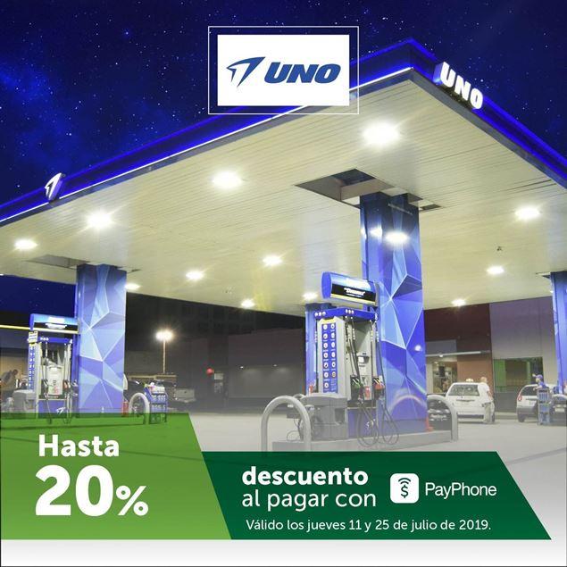 Foto de Hasta -20% con PayPhone en estaciones UNO