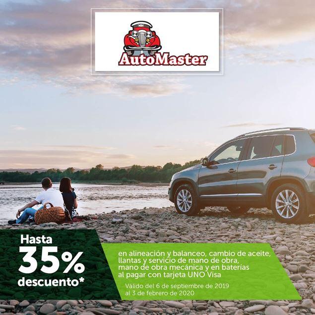 Foto de Hasta 35% de descuento en alineación y balanceo, cambio de aceite, llantas y servicio de mano de obra mecánica y en baterías.