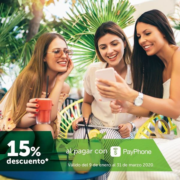 Foto de -15% al pagar con PayPhone