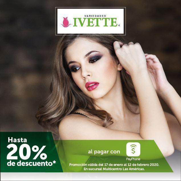 Foto de Hasta -20% al pagar con PayPhone en Variedades Ivette Multicentro Las Américas