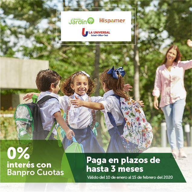 Foto de Banpro Cuotas en Hispamer, Librería Jardín y Distribuidora La Universal