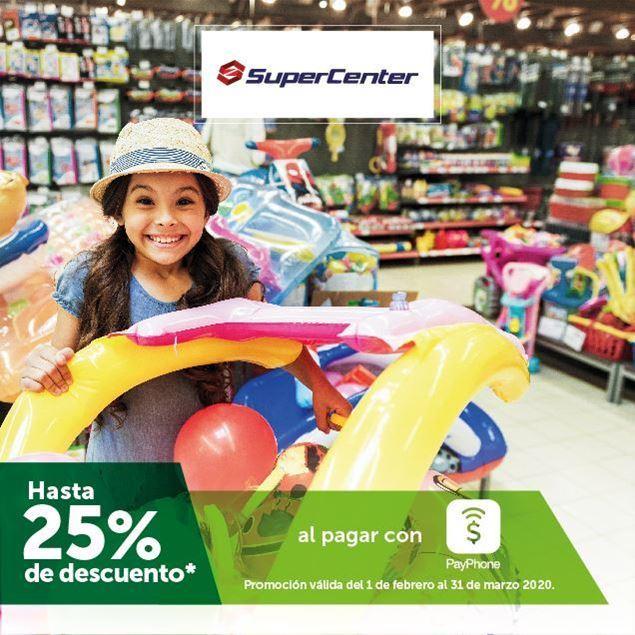 Foto de Hasta -25% al pagar con PayPhone en Supercenter