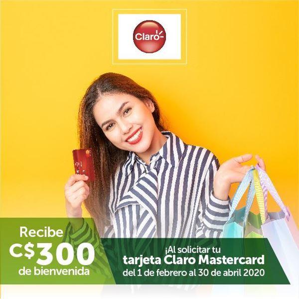 Foto de Recibe bono de bienvenida al solicitar tu Claro Mastercard