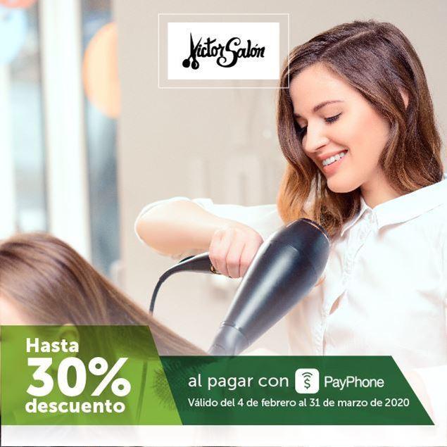 Foto de Hasta -30% al pagar con PayPhone en Victor Salon