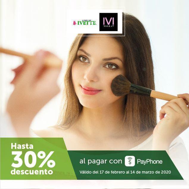 Foto de Hasta -30% al pagar con PayPhone en Variedades Ivette e Ivi Makeup