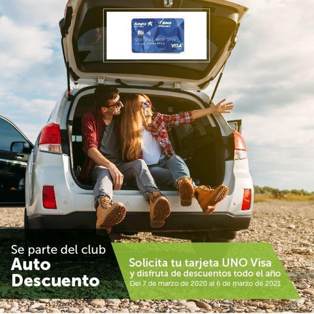 Foto de Club de Auto Descuentos UNO VISA