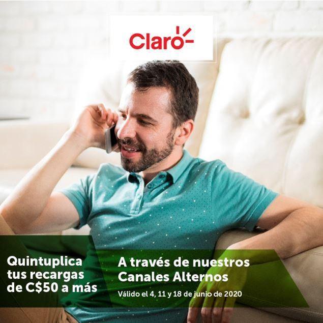 Foto de Quintuplica tus recargas CLARO en nuestros canales alternos