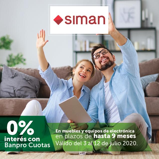 Foto de Hasta 9 meses sin intereses en muebles y equipos de electrónica en SIMAN