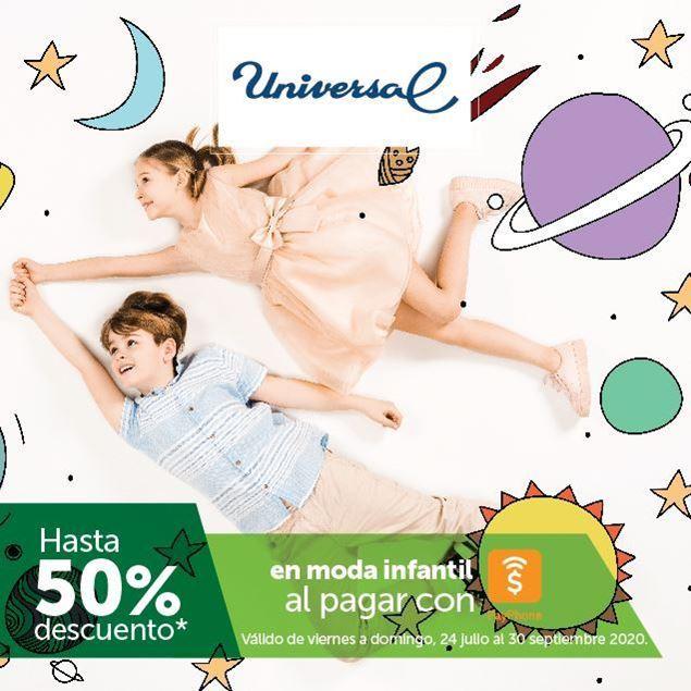 Foto de Hasta -50% en moda infantil al pagar con PayPhone en Universal