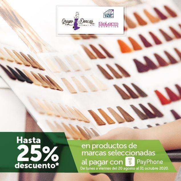 Foto de Hasta -25% en Color TEK y Salerm Cosmetics al pagar con PayPhone en Grupo Dences