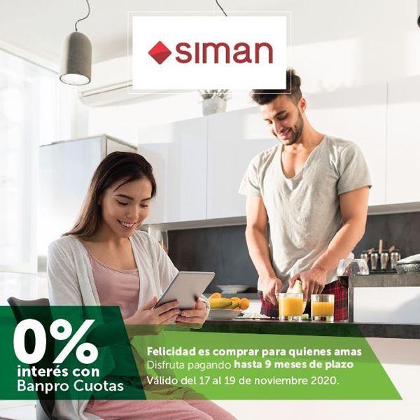 Foto de Hasta 9 meses sin intereses líneas seleccionadas de SIMAN