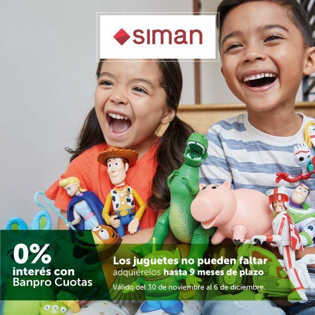 Foto de Hasta 9 meses sin intereses en juguetes de SIMAN