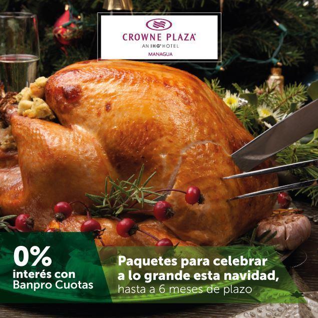 Foto de Hasta 6 meses sin intereses en los paquetes de cena navideña de HOTEL CROWNE PLAZA