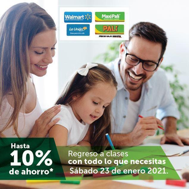 Foto de 10% de ahorro en WALMART, MAXI PALÍ, PALÍ Y LA UNIÓN