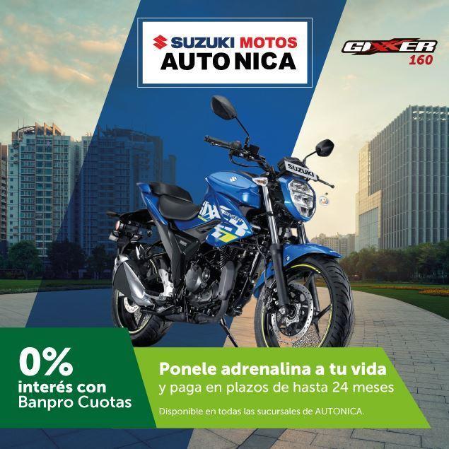Foto de Motocicletas SUZUKI hasta a 24 meses de plazo en AUTO NICA