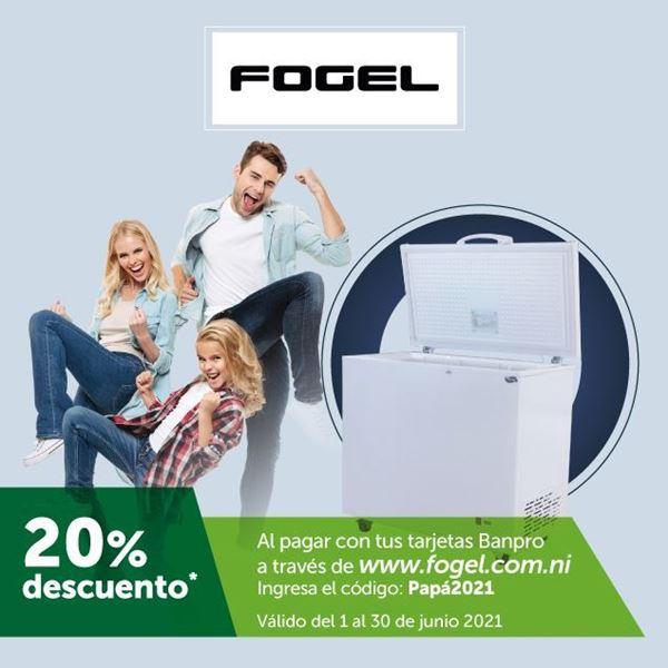 Foto de 20% de descuento al comprar en la web de FOGEL