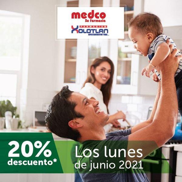 Foto de 20% de descuento en farmacias Medco y Xolotlán