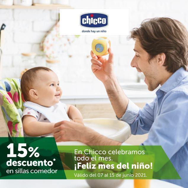 Foto de 15% de descuento en sillas comedor de CHICCO